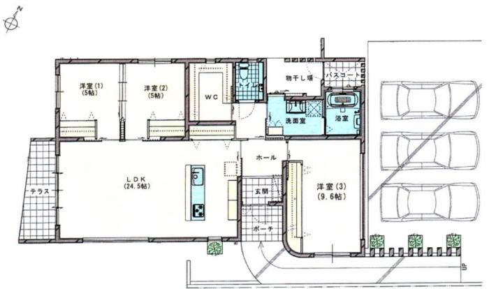 【戸建】新築 Casa BeneⅡ うるま市石川東恩納
